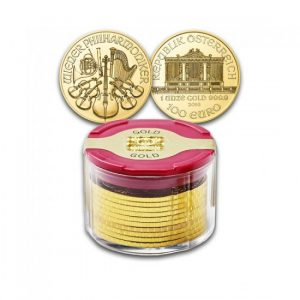 Tube Philharmoniker 10 x 1 Oz - Gold Service - Achat & Vente Or - Boutique en ligne