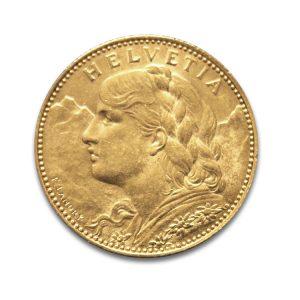 10 Francs Vreneli - Gold Service - Achat & Vente Or - Boutique en ligne