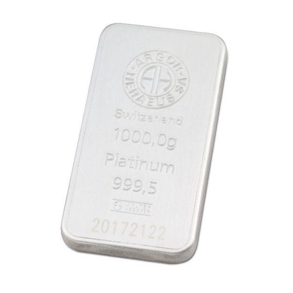 Lingot Platine Argor 1 Kg - Gold Service - Achat & Vente Or - Boutique en ligne