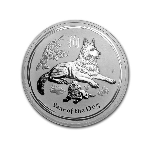 Silver Lunar Dog 1 Oz - Gold Service - Achat & Vente Or - Boutique en ligne