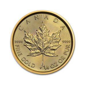 Maple Leaf 1/4 Oz - Gold Service - Achat & Vente Or - Boutique en ligne