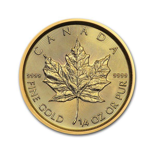 Maple Leaf 1/4 Oz - Gold Service - Achat & Vente Or - Boutique en ligne