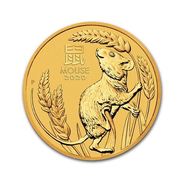 Lunar Mouse 1/4 Oz - Gold Service - Achat & Vente Or - Boutique en ligne