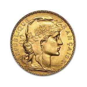 20 Francs Napoléon - Coq Marianne - Gold Service - Achat & Vente Or - Boutique en ligne