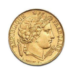 20 Francs Napoléon - Cérès - Gold Service - Achat & Vente Or - Boutique en ligne