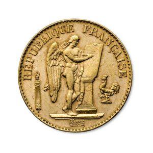 20 Francs Napoléon - Génie - Gold Service - Achat & Vente Or - Boutique en ligne