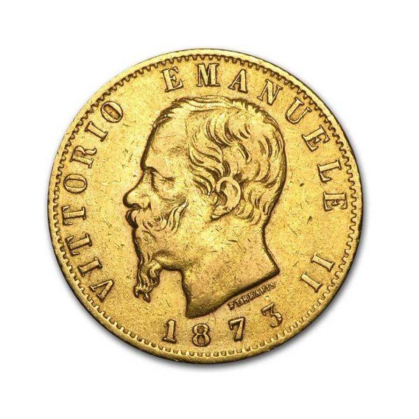 20 Lires Emmanuel II - Gold Service - Achat & Vente Or - Boutique en ligne