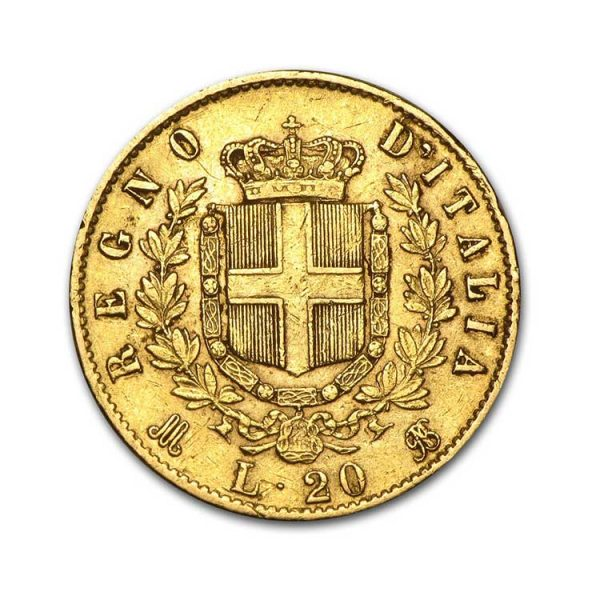20 Lires Umberto 1er - Gold Service - Achat & Vente Or - Boutique en ligne