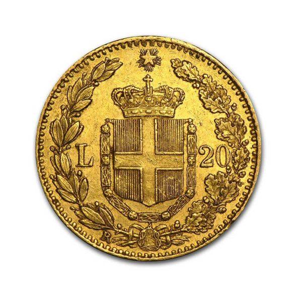20 Lire Umberto - Gold Service - Achat & Vente Or - Boutique en ligne