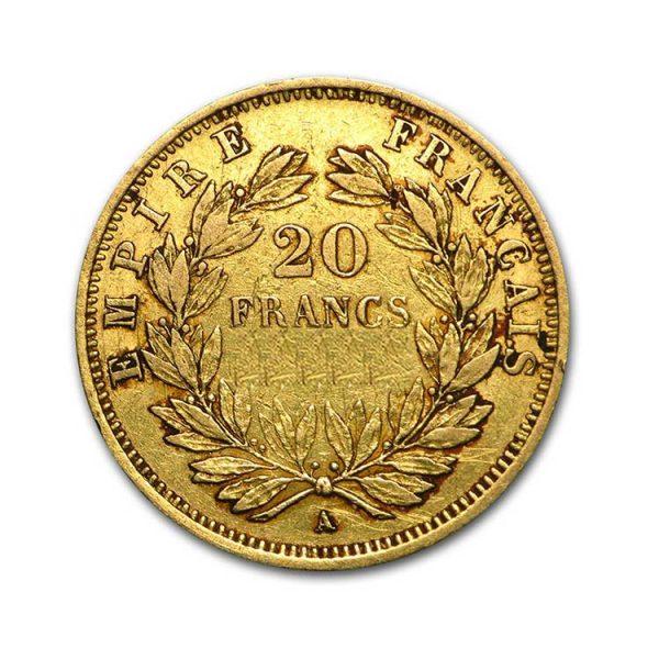20 Francs Napoléon - Tête nue - Gold Service - Achat & Vente Or - Boutique en ligne