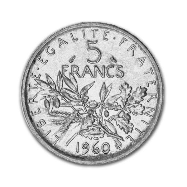 5 Francs Semeuse - Gold Service - Achat & Vente Or - Boutique en ligne