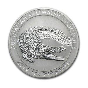 Silver Crocodile Saltwater 1 Oz - Gold Service - Achat & vente OR - Boutique en ligne