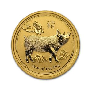 Gold Lunar Pig 1/4 Oz - Gold Service - Achat & vente OR - Boutique en ligne