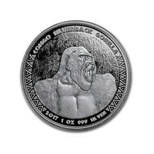 Silver Gorilla 1 Oz - Gold Service - Achat & vente OR - Boutique en ligne