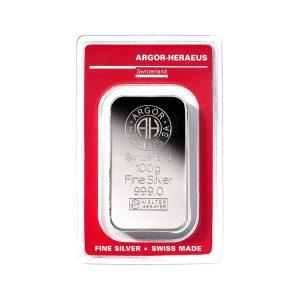 Lingot Argent Argor 100g - Gold Service - Achat & vente OR - Boutique en ligne