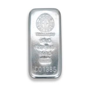 Lingot Argent Argor 1 Kg - Gold Service - Achat & vente OR - Boutique en ligne