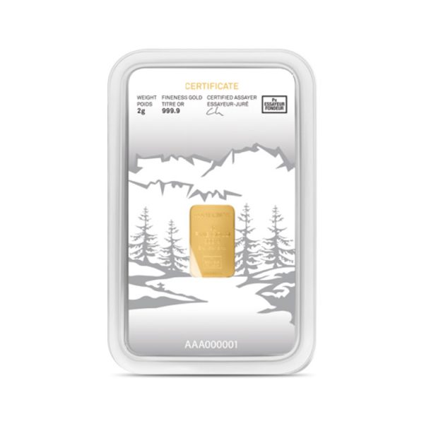 Lingot Or Precinox 2g - Lapoya - Gold Service - Achat & vente OR - Boutique en ligne