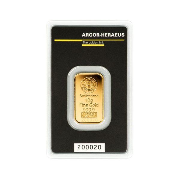 Lingot Or Argor 10g - Gold Service - Achat & vente OR - Boutique en ligne