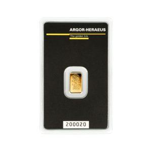 Lingot Or Argor 1g - Gold Service - Achat & vente OR - Boutique en ligne