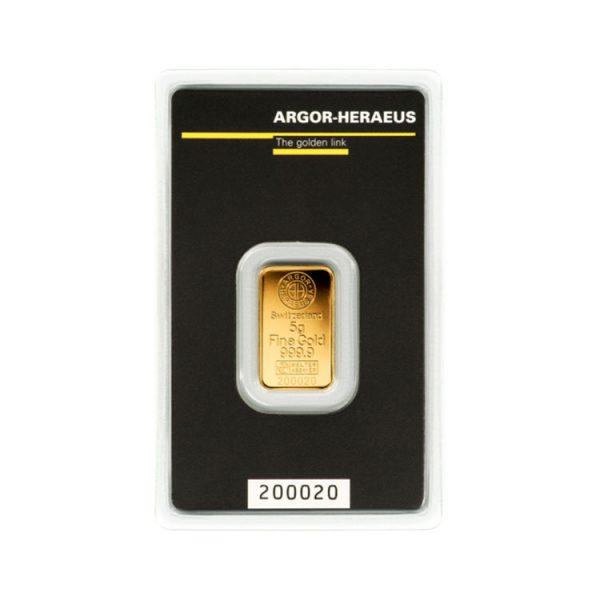 Lingot Or Argor 5g - Gold Service - Achat & vente OR - Boutique en ligne