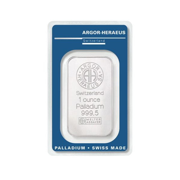 Lingot Palladium Argor 1 Oz - Gold Service - Achat & vente OR - Boutique en ligne