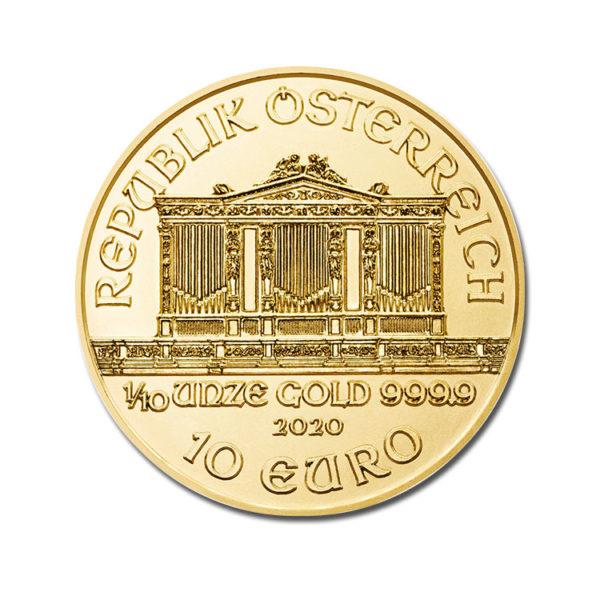 2020 Philharmonic 1/10 Oz - Gold Service - Achat & vente OR - Boutique en ligne
