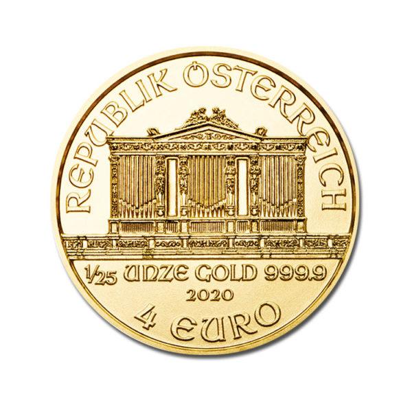 2020 Philharmoniker 1/25 Oz - Gold Service - Achat & vente OR - Boutique en ligne