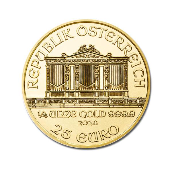 2020 Philharmoniker 1/4 Oz - Gold Service - Achat & vente OR - Boutique en ligne