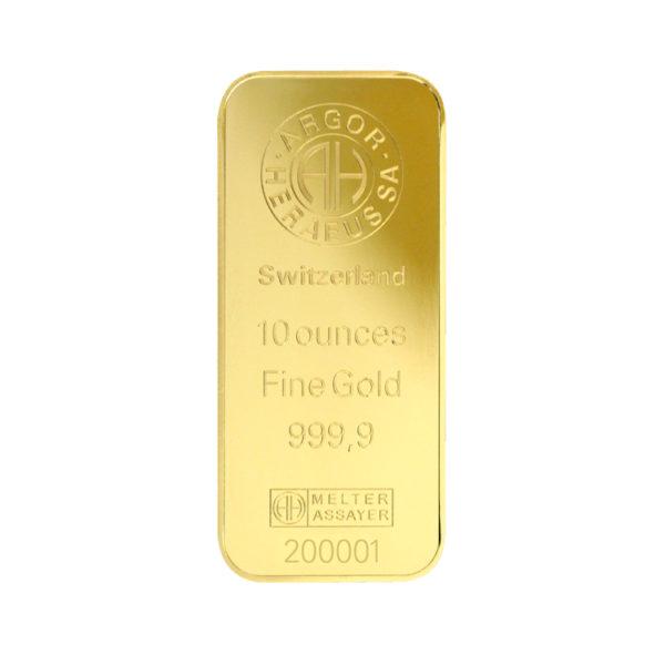 Lingot Or Argor - 10 Oz - Gold Service - Achat & Vente Or - Boutique en ligne