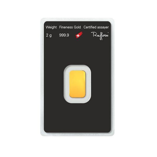 Lingot Or Argor - 2g - Gold Service - Achat & Vente Or - Boutique en ligne