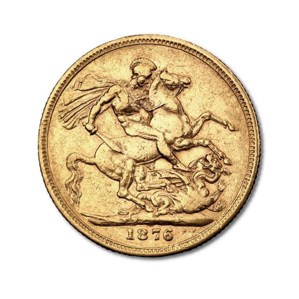 1 Pound Sovereign Victoria - Gold Service - Achat & vente OR - Boutique en ligne