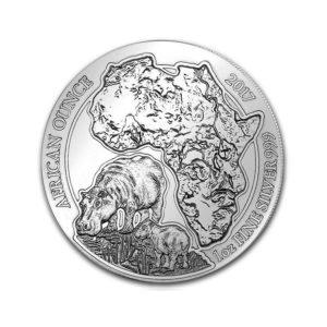 1 Oz Silver African Hippo - Gold Service - Achat & Vente Or - Boutique en ligne