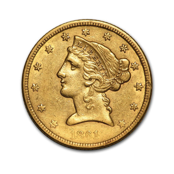5$ US Eagle - Liberty Head - Gold Service - Achat & Vente Or - Boutique en ligne
