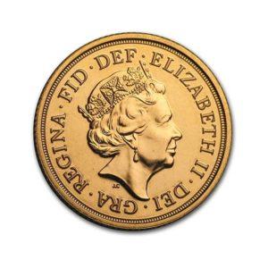 1 Pound New Sovereign Elisabeth II - Gold Service - Achat & vente OR - Boutique en ligne