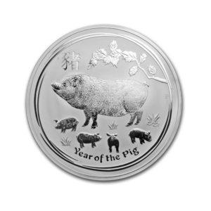 1Kg Silver Lunar Pig - Gold Service - Achat & Vente Or - Boutique en ligne