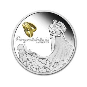 2020 Australia 1 oz Silver Wedding Proof - 1 Oz - Gold Service - Buy & Sell Gold - Online Shop