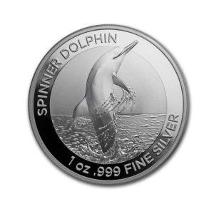 2020 Australia 1 oz Silver Spinner 1$ Dolphin BU - Gold Service - Achat & Vente Or - Boutique en ligne