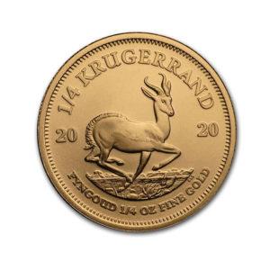 2020 South African Krugerrand 1/4 Oz - Gold Service - Achat Or - Boutique en ligne
