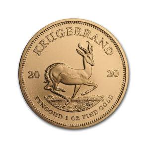 2020 South African Krugerrand 1 Oz - Gold Service - Achat Or - Boutique en ligne
