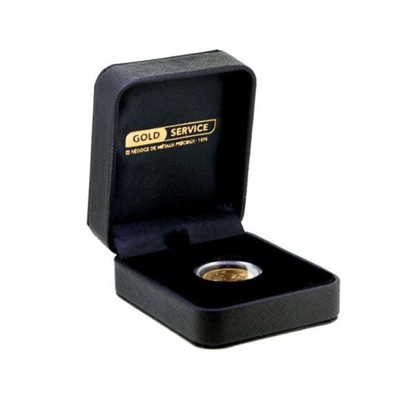 Écrin Gold Service - 1 Oz - Gold Service - Achat & Vente Or - Boutique en ligne