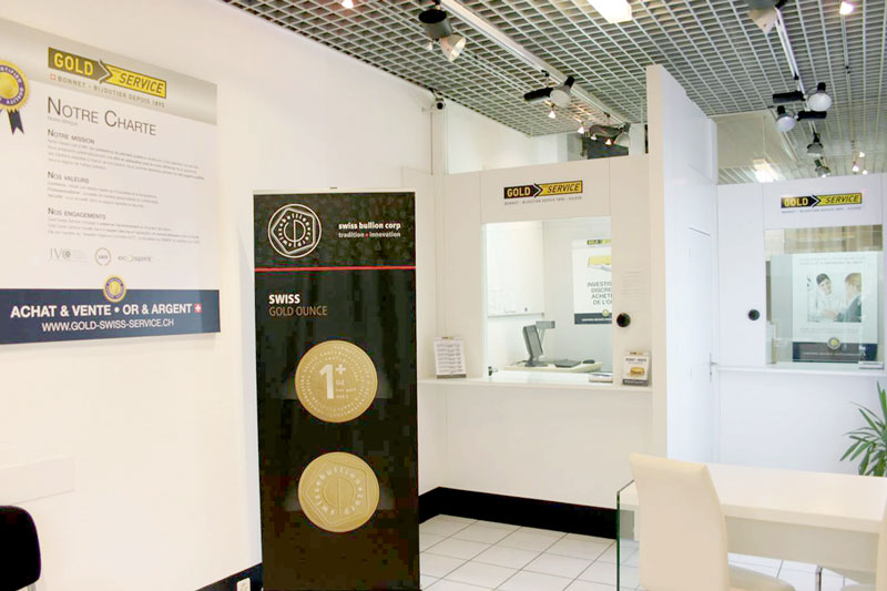 Achat Or Agence - Gold Service