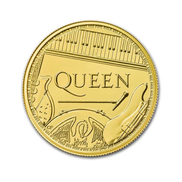 1 oz Gold Music Legends: Queen BU - Gold Service - Achat Or - Boutique en ligne