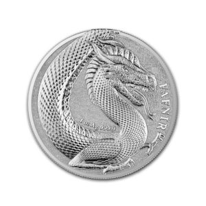1 oz Silver Round - Germania Beasts 2020 BU (Fafnir)
