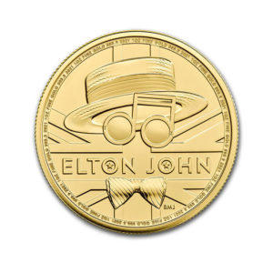 2020 Great Britain 1 oz Gold Music Legends: Elton John BU