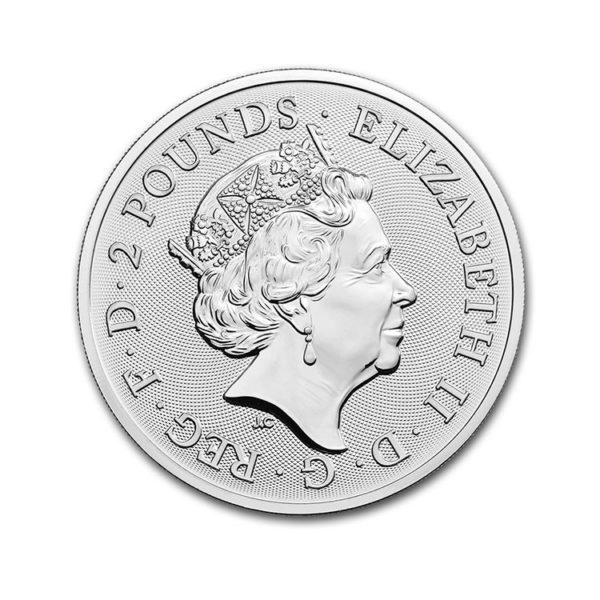 2020 Great Britain 1 oz Silver Music Legends: Elton John BU
