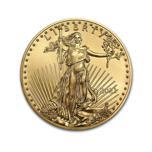 2021 1/4 oz Gold American Eagle