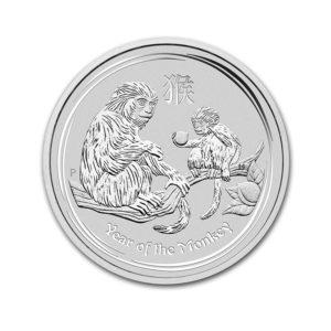 2016 10 oz Silver Australian Lunar Monkey Coins