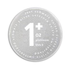 Swiss One + 1 Oz Platinum