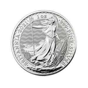 Britannia 2021 1 oz Silver Coin