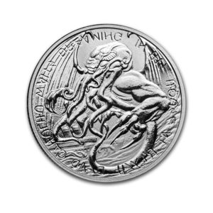 2021 Tokelau 1 oz Silver $2 The Great Old One: Cthulhu